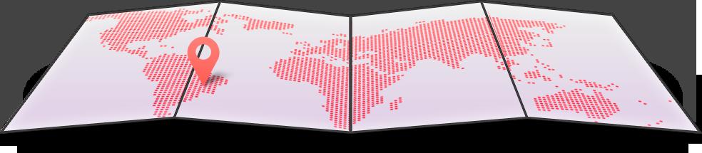 Mapa de Área de Abrangência Ibsol